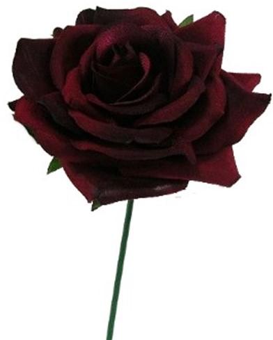 CURVE ROSE CAD Rood DOOS48 st Flowerwall bruidsboeket