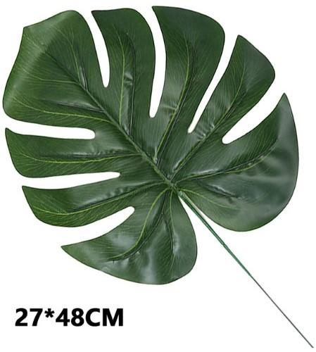 Monstera blad Monsterablad Groot 27*48cm. /st - 27*48 VT Wonen Botanical