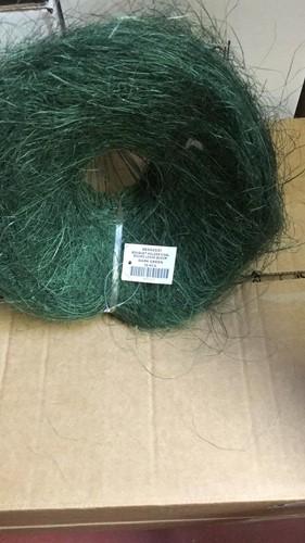 Boekethouder sisal rond los 20 cm. diverse kleuren - d groen Boekethouder si