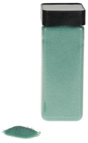 Decoratiezand 650 ml Aqua blauw Decoratiezand