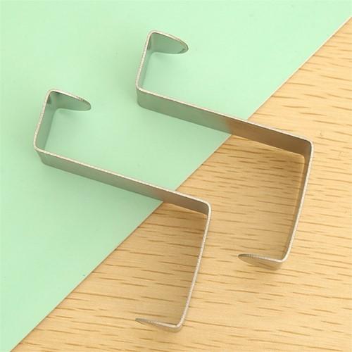 Deurkranshanger zilverkleur 5, 8*4*2 cm. / set 2 stuks Deurkranshanger