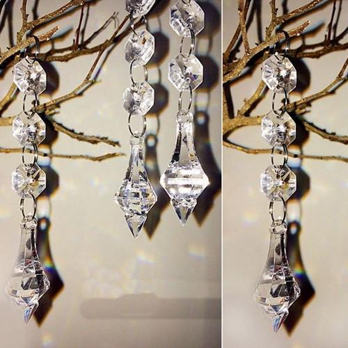 Diamant HANGER T3 voor Flowerball kroonluchter +/-1st  Diamantstreng voor Flower