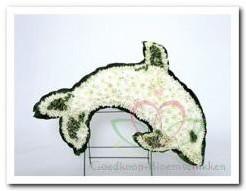 Dolfijn steekschuimvorm Dolfijn steeksc
