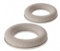 Droogschuim ring / krans 25cm. Met kunststof ring