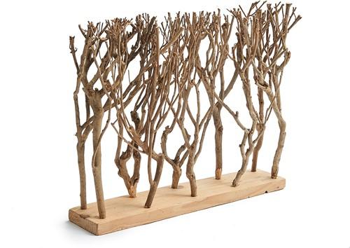 Tea tree devider 50x39cm Decoratief object op standaard