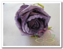 foam roos Lila-Paars gemel/ doos 36 foam roos Lila