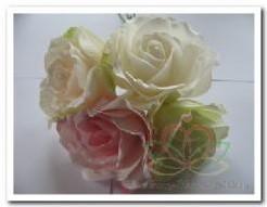 foamrose Sophie Green Groen 14 cm. / DOOS12 foamrose Sophie