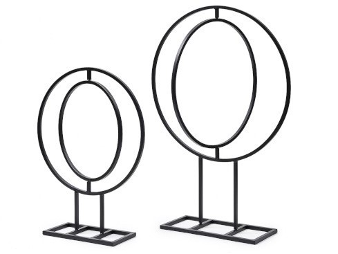 Frame rond Frame Round 68x48cm 1pc (movable) Op voet