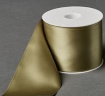 Lint voor Lintprinters Creative Ribbon 75mm HELLGRUN 25m stevig kwaliteits lint Dubbelsatijn