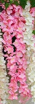Hortensia bloemenSLINGER 220 cm. Roze / stuk Hortensia SLINGER