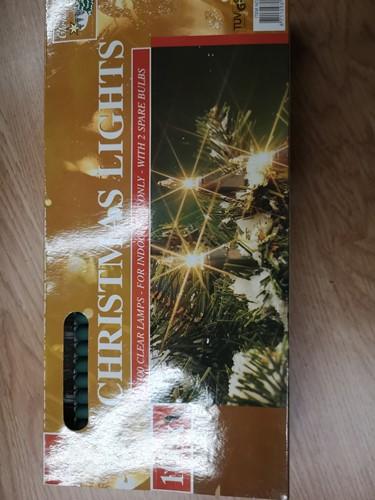Kerstverlichting buitenverlichting 100 lampjes kerstlichtjes kerstlampjes