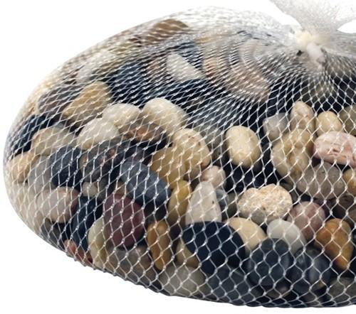 Kiezelsteentjes, net à 1 kg Bruintinten Kiezelsteentjes, net à 1