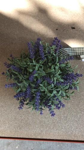 Lavendel bal met lint Lavendel bloemenbal bloemenbol pomander