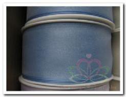 Lint Organza Lblauw 40 mm draad /m Lint Organza Lb