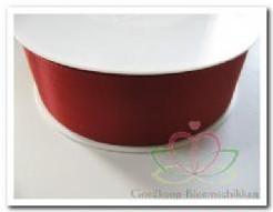 Lint rood kerstlint Taftlint 40 mm