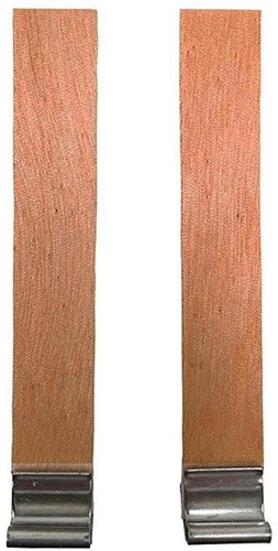 Maak je eigen Wood wick candle pit - 10 stuks 8mm x 90mm