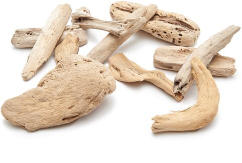 Crazy driftwood 500g Drijfhout lightwood