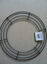 Metalen frame voor kransen rond 14'' = +/- 35 cm.' Metalen frame voor krans
