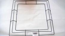 Metalen frame voor kransen Vierkant 18'' +/- 45 cm.' Frame