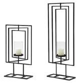 Frame Square movable 60x25cm + candleholder grootste