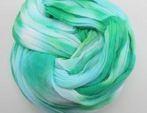 Nylon 120 Zeeblauw-Groen 2tonevoor het maken van bloemen Nylon