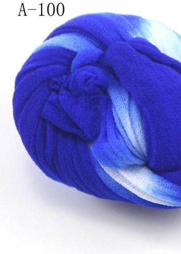 Nylon 34 Blauw-wit 2tonevoor het maken van bloemen Nylon