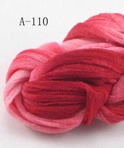 Nylon Rood roze 2tone voor het maken van bloemen Nylon