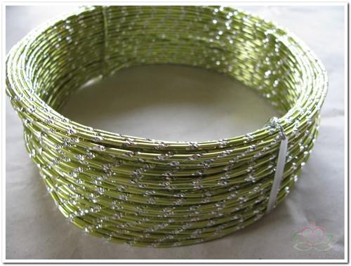 Oasis Diamond Sensation Wire - 40-10104 Appelgroen Aludraad met di