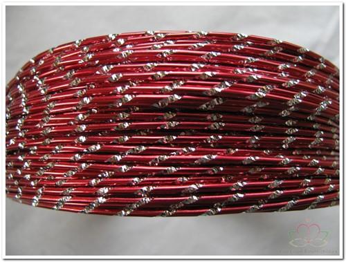 Oasis Diamond Sensation Wire - 40-10105 rood Aludraad met di