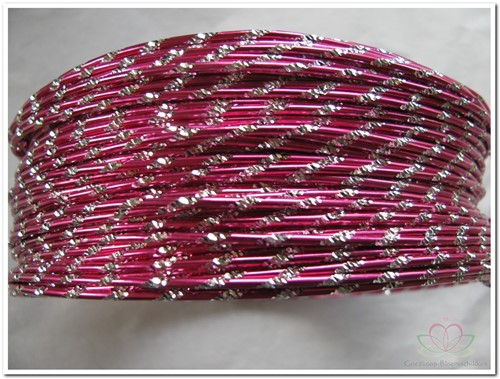 Oasis Diamond Sensation Wire - 40-10101 Strong Pink Aludraad met di