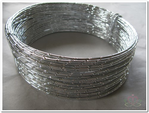 Oasis Diamond Sensation Wire - 40-10103 Zilver Aludraad met di