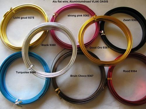 Oasis Aluminium Wire/ Draad  2 mm 100 gram