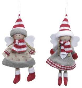 2*Hanger Engel 12 cm set van 2 Angel