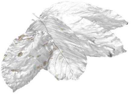 Sal leaves bladeren Zilver ±15cm. 20pcs Sal bladeren Full Silver