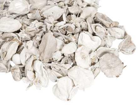 Drooggoedmix WIT Natuurlijke materialen Heel veel voor weinig Potpourimix