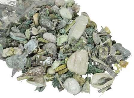 Drooggoedmix Groen Natuurlijke materialen Heel veel voor weinig Potpourimix