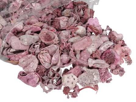 Drooggoedmix ROOD Natuurlijke materialen Heel veel voor weinig Potpourimix