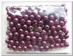 Parel, rijgparels 12 mm, zakje 50 gram. FLB - hbl85-0087-057 Pearl Parel, rijgpar