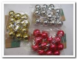 Parel, rijgparels 20 mm, zakje 50 gram. FLB - hbl85-0088-057 Pearl KORTING zie omschrijving