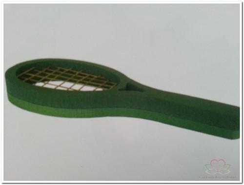 Tennis Racket steekschuimvorm 3D Steekschuim