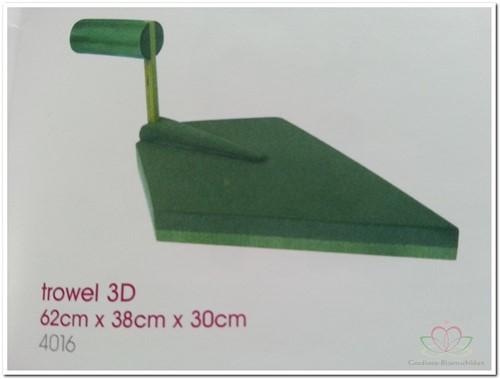 Metsel Troffel steekschuimvorm 3D