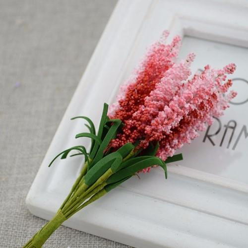 Lavendel van foam RED/ bundel 10 Lavendel van foam