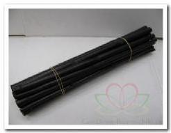 Polygonum / Bamboe stokken Zwart 40 cm. / los 5 stu Polygonum / Bam