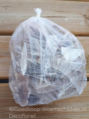 RaisorBlade naturel / zak 1 kg GEBOORD geboord, naturel, 1 kilo