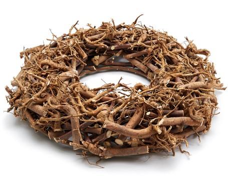 Supermooie grote Dikke Wortelkrans 55cm natural Root wreath 55cm