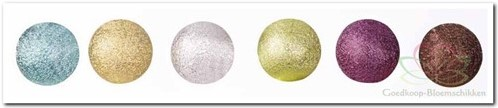 Rijgparel mat 18 mm 20 stuks - bruin 009301018000 Rijgparel mat 1