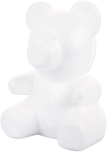 Styropor beer Bob 30 cm. voor bijvoorbeeld roosjes Bob