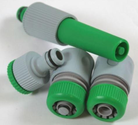 Waterkoppelingset Slang connector set 1/2 '4 stuks direct op kraan en slang aan te sluiten