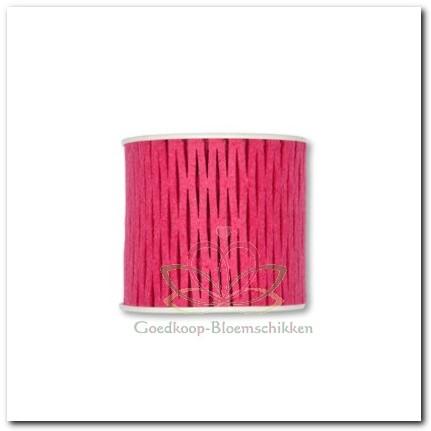 Viltlint Viltband Netband Fuchsia Roze 60 Lint viltband