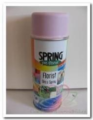 Spring pro Florist Decoratie Spray Lila 400cc Bloemen verfspray